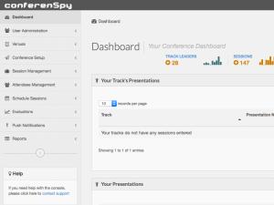 conferenSpy Dashboard